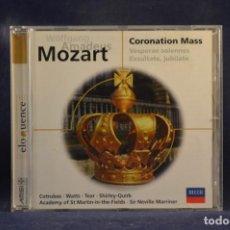 CDs de Música: MOZART - CORONATION MASS (VESPERAE SOLENNES / EXSULTATE, JUBILATE) - CD. Lote 254919400