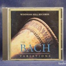 CDs de Música: JOHANN SEBASTIAN BACH, VARIOUS - THE BACH VARIATIONS (A WINDHAM HILL SAMPLER) - CD. Lote 254919595