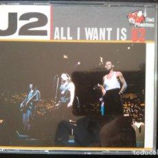 CDs de Música: U2 (2CDS) LIVE AT AHOY HAL, ROTTERDAM 1990 (ALL I WANT IS) TOUR ´90. Lote 254920050
