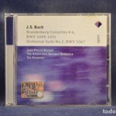 CDs de Música: J.S. BACH - BRANDENBURG CONCERTOS 4-6, BWV 1049-1051 / ORCHESTRAL SUITE NO. 2, BWV 1067 - CD. Lote 254920120