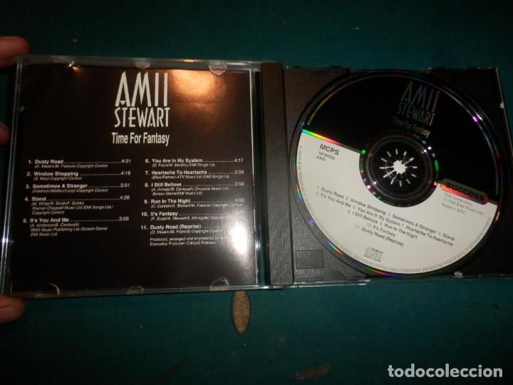 CDs de Música: AMII STEWART - TIME FOR FANTASY - CD 11 TEMAS - SUCCESS/ELAP MUSIC 1993 - Foto 2 - 254929450