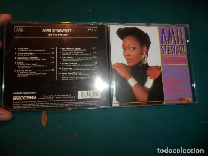 AMII STEWART - TIME FOR FANTASY - CD 11 TEMAS - SUCCESS/ELAP MUSIC 1993 (Música - CD's Disco y Dance)