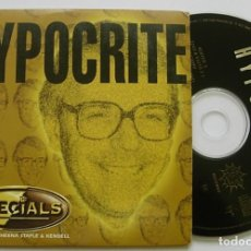 CDs de Música: THE SPECIALS CD SINGLE HYPOCRITE MIX 2 MIXES KUFF RECORDS 1995 CARD SLEEVE. Lote 254932720