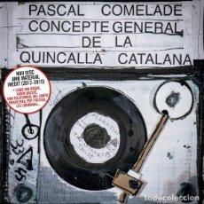 CD di Musica: PASCAL COMELADE – CONCEPTE GENERAL DE LA QUINCALLA CATALANA - NUEVO Y PRECINTADO. Lote 254952800