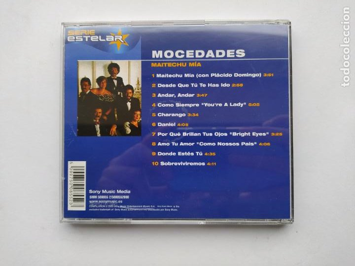 CDs de Música: MOCEDADES. Maitechu mía CD. TDKCD38 - Foto 3 - 254957630