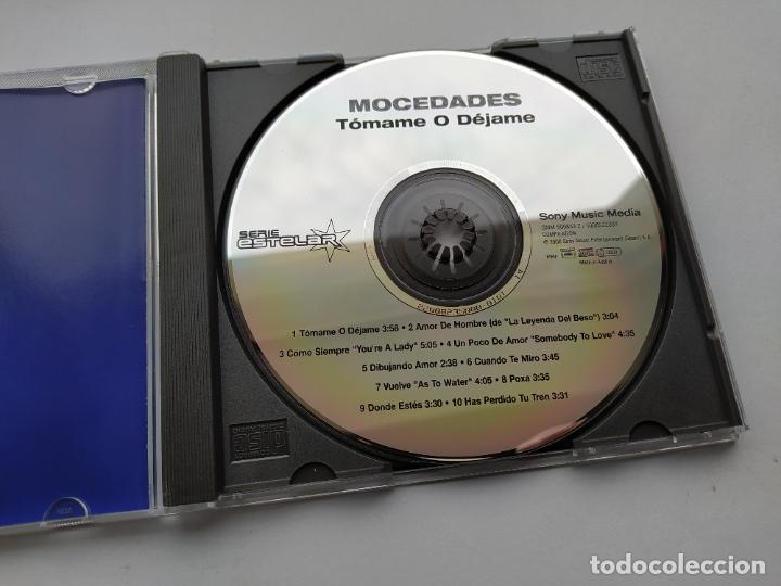 CDs de Música: MOCEDADES. TOMAME O DEJAME. CD. TDKCD38 - Foto 2 - 254957780