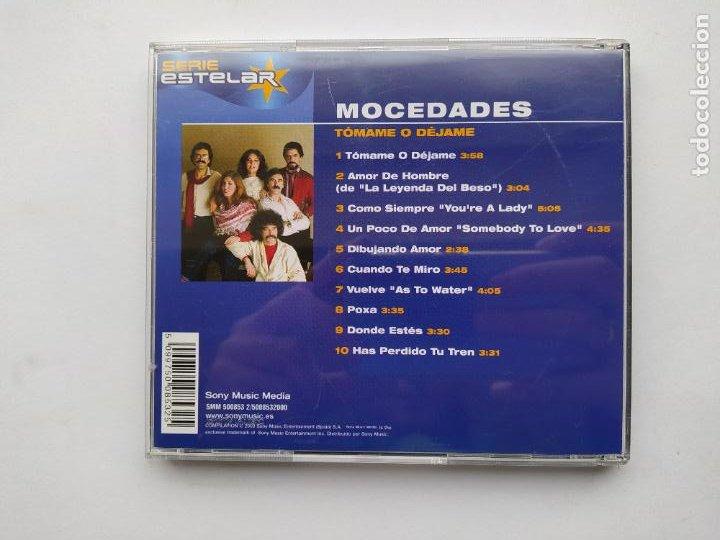 CDs de Música: MOCEDADES. TOMAME O DEJAME. CD. TDKCD38 - Foto 3 - 254957780