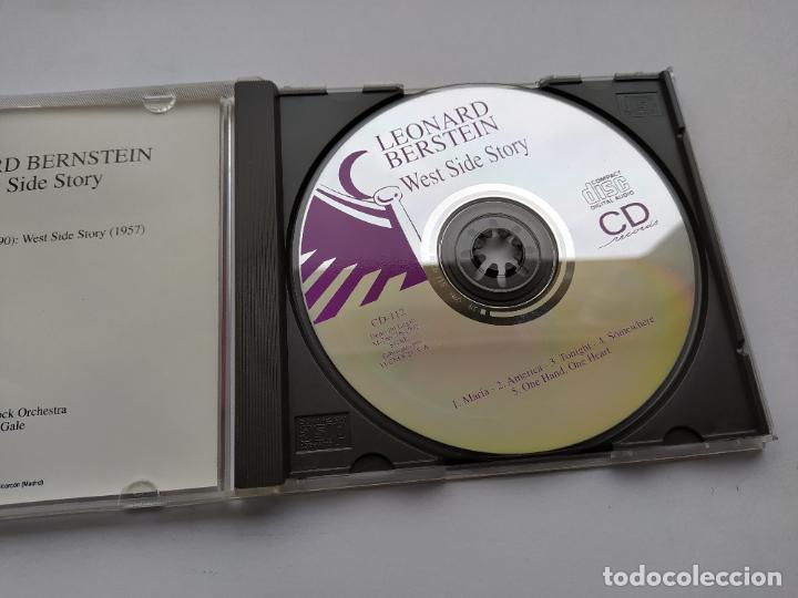 CDs de Música: LEONARD BERNSTEIN. WEST SIDE STORY. CD. TDKCD38 - Foto 2 - 254958610
