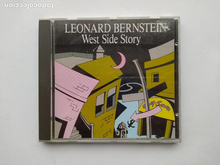 LEONARD BERNSTEIN. WEST SIDE STORY. CD. TDKCD38 (Música - CD's Bandas Sonoras)