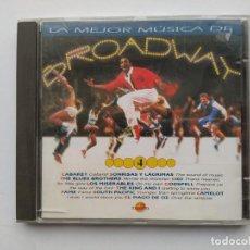 CDs de Música: LA MEJOR MUSICA DE BROADWAY. Nº 4. CD. TDKCD38. Lote 254959420