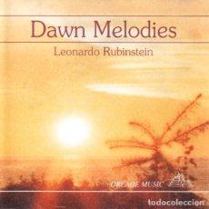CDs de Música: LEONARDO RUBINSTEIN - DAWN MELODIES - CD. Lote 254968480