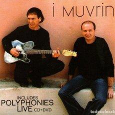 CDs de Música: DOBLE CD ALBUM + DVD: I MUVRINI - POLYPHONIES & LIVE - 26 TRACKS - CAPITOL RECORDS / EMI - AÑO 2007. Lote 254972165