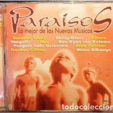 CDs de Música: PARAÍSOS (LO MEJOR DE LAS NUEVAS MUSICAS) - 2X CD. Lote 254979430