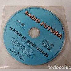 CDs de Música: RADIO FUTURA - LA ESTATUA DEL JARDIN BOTANICO (CDSINGLE PICTURE PROMO, ARIOLA 1998). Lote 255306250