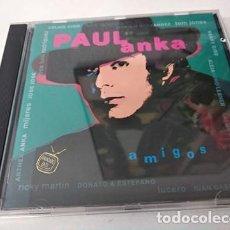 CDs de Música: PAUL ANKA - AMIGOS - CD. Lote 255306310