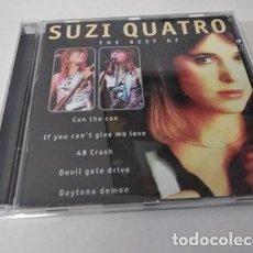 CDs de Música: SUZI QUATRO -THE BEST OF SUZI QUATRO. Lote 255306390