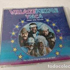 CDs de Música: VILLAGE PEOPLE - YMCA (THREE VERSIONS) / GO WEST (CDSINGLE CAJA, ARISTA 1993). Lote 255306490