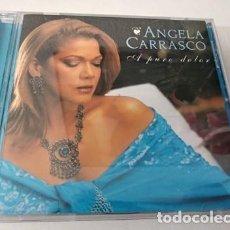 CDs de Música: ANGELA CARRASCO (A PURO DOLOR) CD 2000. Lote 255306510