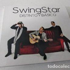 CDs de Música: SWING STAR - DISTINTO Y BASICO CD GRUPO VOCAL CANARIO. Lote 255306555