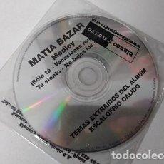 CDs de Música: MATIA BAZAN / MEDLEY (CD SINGLE 2001). Lote 255306600