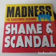 CDs de Música: MADNESS / SHAME & SCANDAL (CD SINGLE CARTON PROMO 2005). Lote 255306610