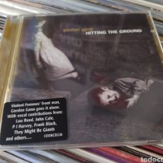 CDs de Música: GORDON GANO ‎– HITTING THE GROUND . CD BUEN ESTADO. ALTERNATIVE ROCK. Lote 255344975