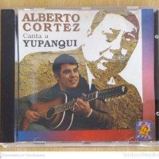 CDs de Música: ALBERTO CORTEZ (CANTA A YUPANQUI) CD 1995 SERIE DIFUSIÓN. Lote 255356240