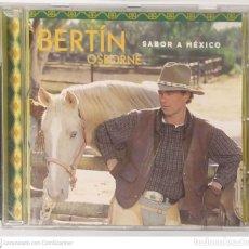 CDs de Música: BERTIN OSBORNE (SABOR A MEXICO) CD 2000. Lote 255357125