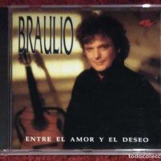 CDs de Música: BRAULIO (ENTRE EL AMOR Y EL DESEO) CD 1992. Lote 255357385