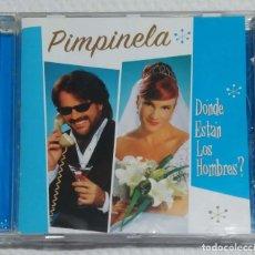 CDs de Música: PIMPINELA (DONDE ESTAN LOS HOMBRES?) CD 2005. Lote 255357915