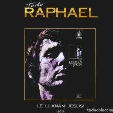 CDs de Música: LE LLAMAN JESÚS 1973 - CD BOOK COLECCIÓN TODO RAPHAEL 19. Lote 255375755