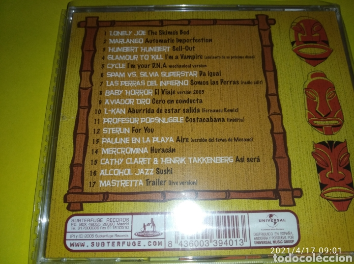 CDs de Música: STEREO PARTY ( CD PRECINTADO NUEVO ) COMPILATION 2006 - Foto 2 - 255440005