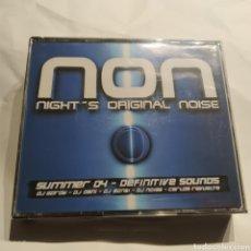 CDs de Música: PRECINTADO - NON NIGHT'S ORIGINAL NOISE (2004) DJ GORDY, DJ DAN, DJ BONSI, DJ NOIAS, CARLOS REVUELTA. Lote 255452850