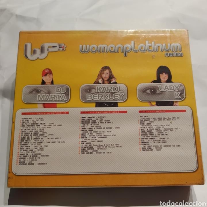 CDs de Música: PRECINTADO - Woman Platinum Series (2003) DJ Marta, Karol Berkley, Lady K - Foto 2 - 255453005