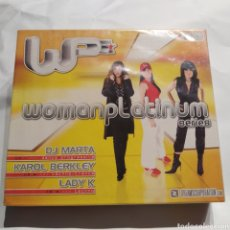 CDs de Música: PRECINTADO - WOMAN PLATINUM SERIES (2003) DJ MARTA, KAROL BERKLEY, LADY K. Lote 255453005