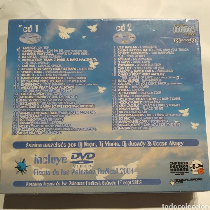 CDs de Música: PRECINTADO - FIESTA DE LAS PALOMAS Radical (2004) Dj Napo, DJ Marta, DJ Juandy, Oscar Akagy 2CD +DVD - Foto 2 - 255453845