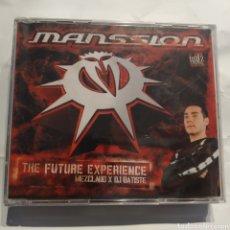 CDs de Música: PRECINTADO - MANSSION THE FUTURE EXPERIENCE (2004) DJ BATISTE. Lote 255453975