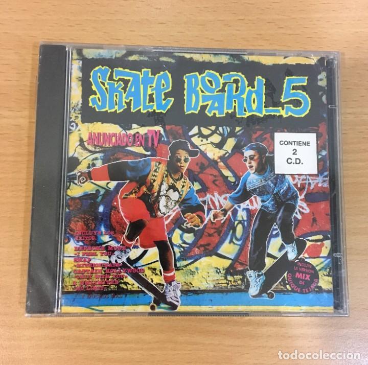 DOBLE CD SKATE BOARD 5. BLANCO Y NEGRO, 1993. PRECINTADO (Música - CD's Techno)