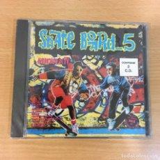 CDs de Música: DOBLE CD SKATE BOARD 5. BLANCO Y NEGRO, 1993. PRECINTADO. Lote 255489000