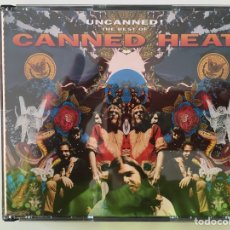 CDs de Música: CANNED HEAT: UNCANNED! THE BEST OF (2 CDS). Lote 255493360