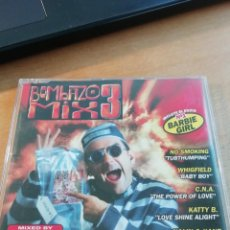 CDs de Música: RAR PROMO SINGLE CD. BOMBAZO MIX 3. Lote 255498865