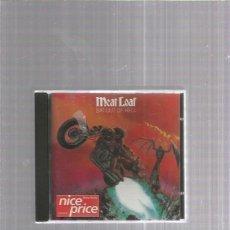 CD de Música: MEAT LOAF BAT OUT. Lote 255501185