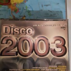 CDs de Música: CD LOS NÚMERO 1 DEL AÑO DISCO 2003. Lote 255514120