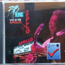 CDs de Música: BB KING - LIVE AT THE APOLLO. Lote 255516580