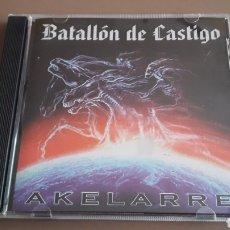 CDs de Música: CD BATALLÓN DE CASTIGO - AKELARRE RAC OI!. Lote 255522290