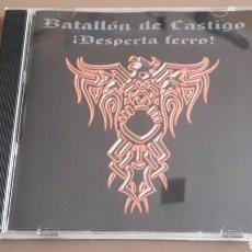 CDs de Música: CD BATALLÓN DE CASTIGO - ¡ DESPERTA FERRO ! RAC OI!. Lote 255522630