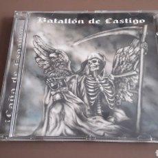 CDs de Música: CD BATALLÓN DE CASTIGO - ¡ CAÑA DE ESPAÑA ! RAC OI!. Lote 255523040