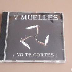 CDs de Música: CD 7 MUELLES - ¡NO TE CORTES! RAC OI!. Lote 255523415