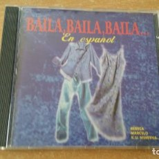 CDs de Música: CD BAILA BAILA EN ESPAÑOL CONTRASEÑA RECORDS HA DA STRATEGIA AMEN ZAR MR SAN AÑO 1997 RARO. Lote 255530295