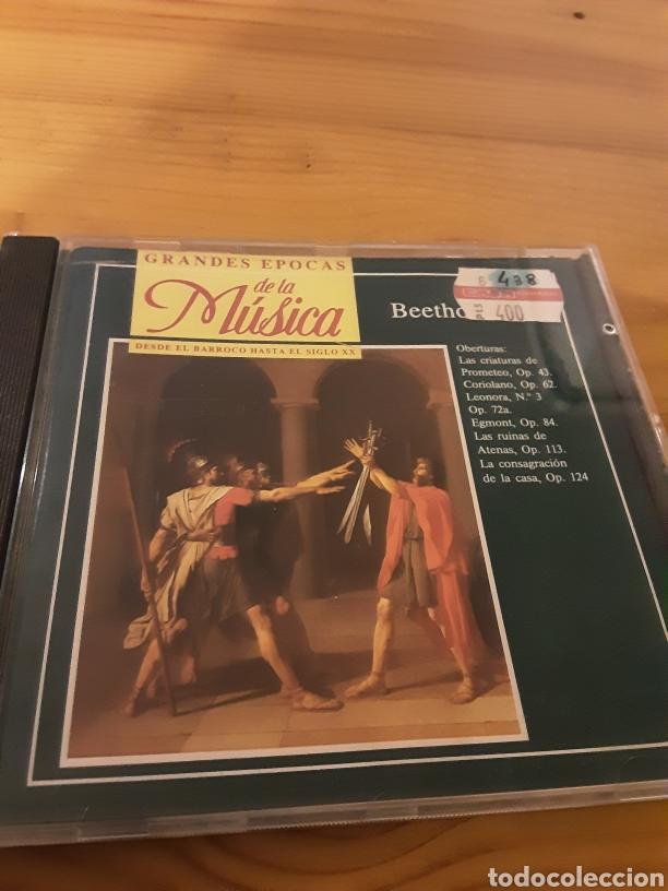 GRANDES EPOCAS DE LA MÚSICA- BEETHOVEN (Música - CD's Clásica, Ópera, Zarzuela y Marchas)